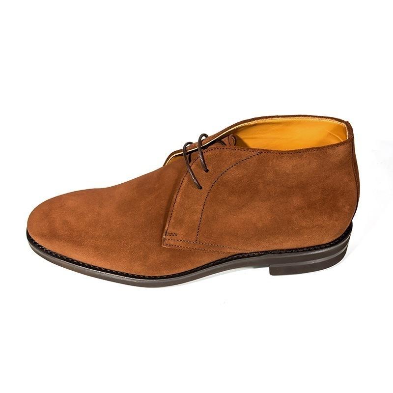 berwick 1707 snuff suede chukka boots kobbler