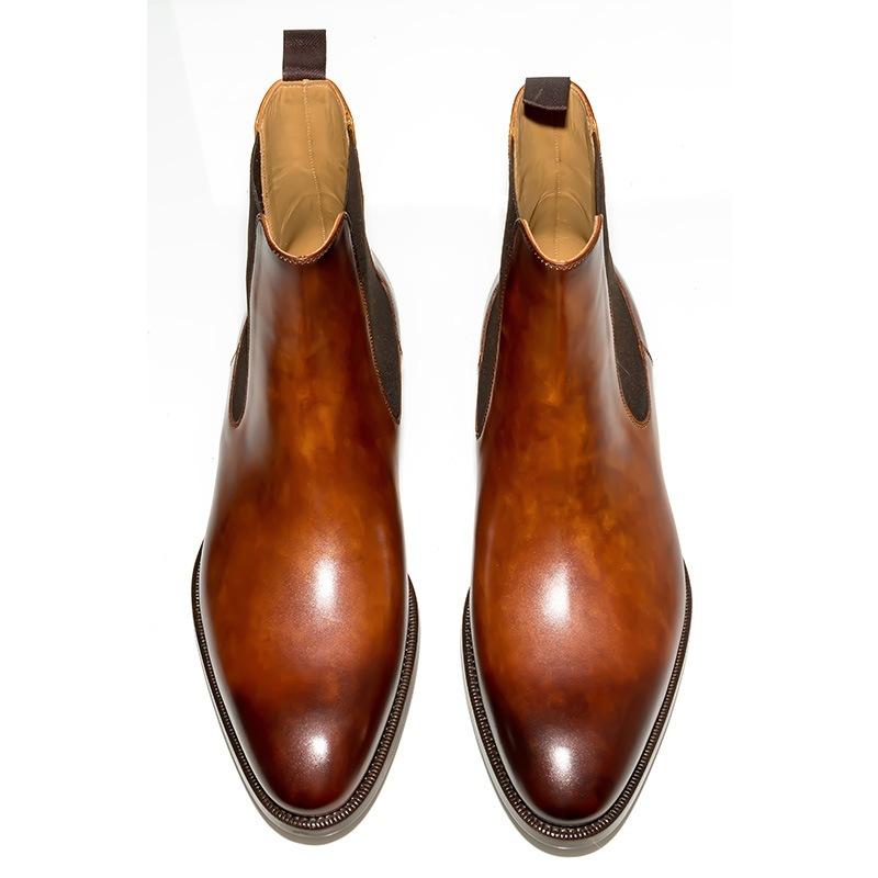 magnanni cognac chelsea boots kobbler. Black Bedroom Furniture Sets. Home Design Ideas