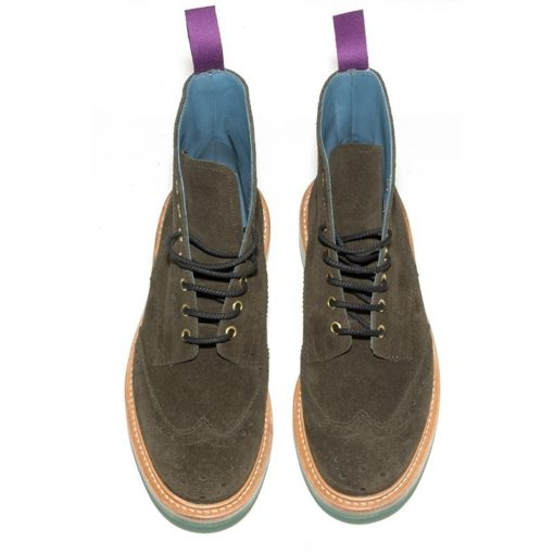 Tricker's Stow Earth Suede Boots