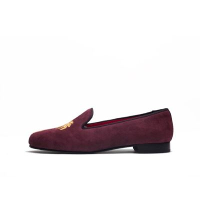 Penelope Chilvers Dandy Suede Palm Tree Slipper