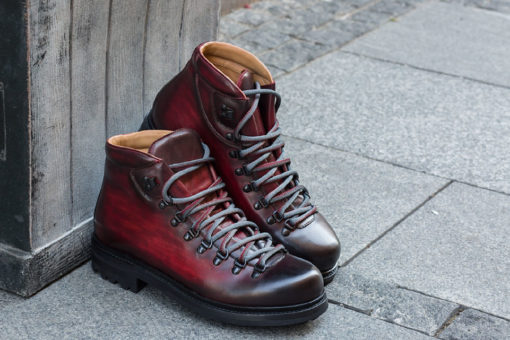 Magnanni Manchester Rojo monkey boots