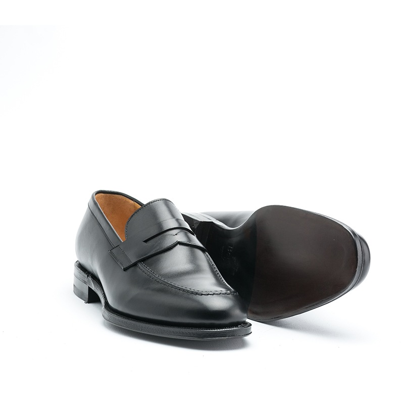 Berwick 1707 Boxcalf Black Loafers