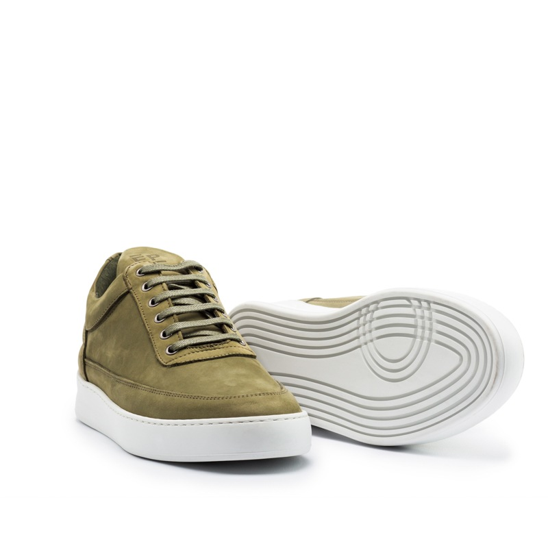 FP Low Top Plain Nubuck Army Green