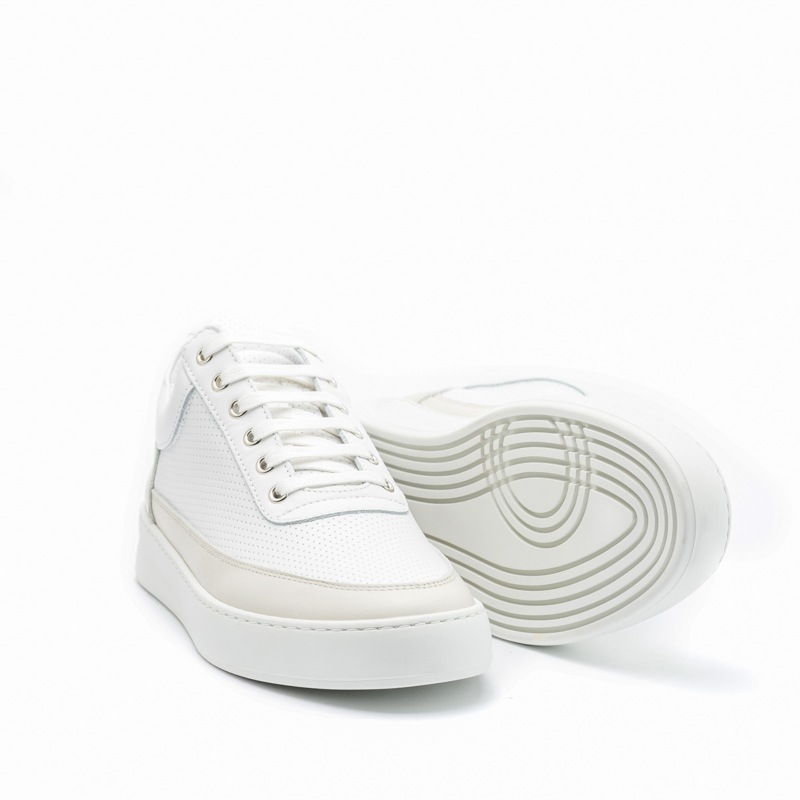 FP Low Top Plain Space Perforated White