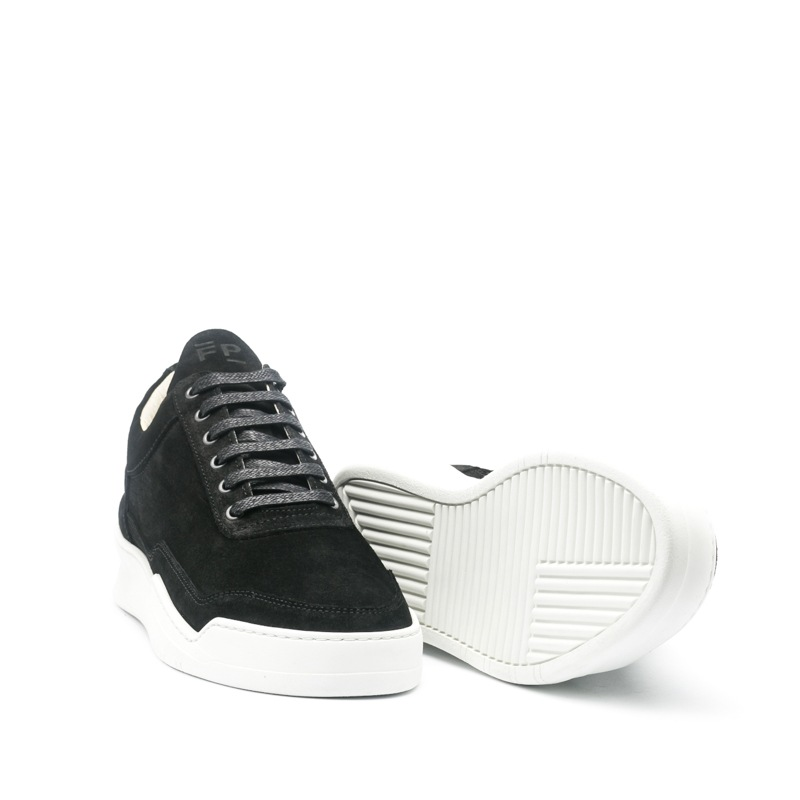 FP Low Top Ghost Suede Black