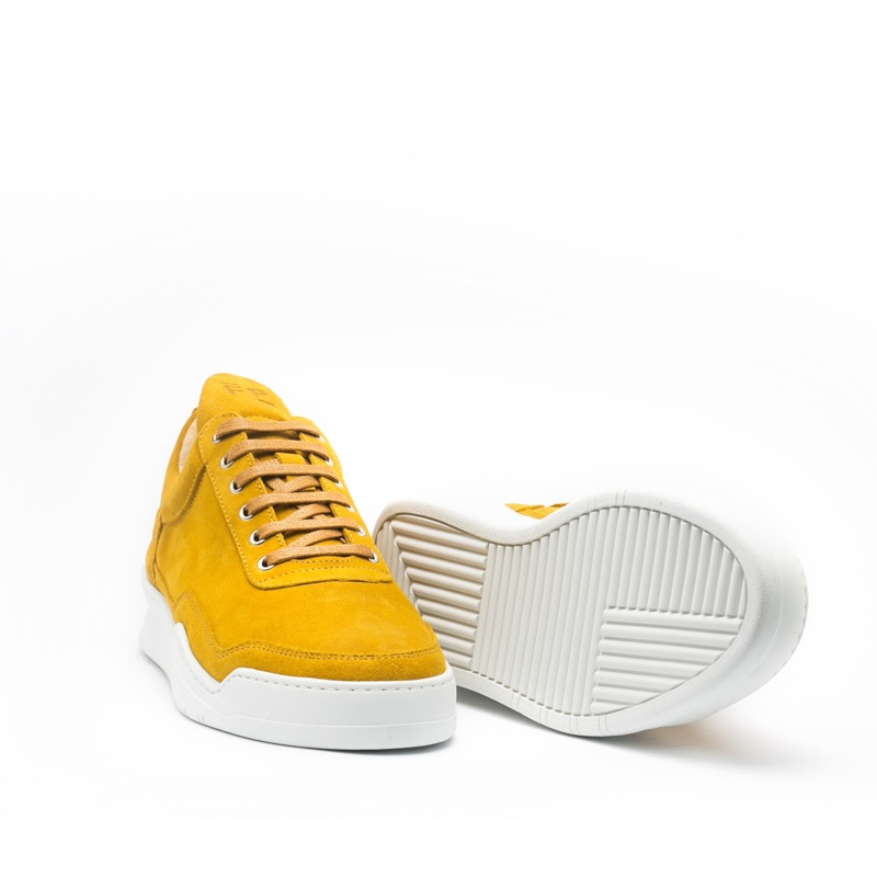 FP Low Top Ghost Suede Mustard