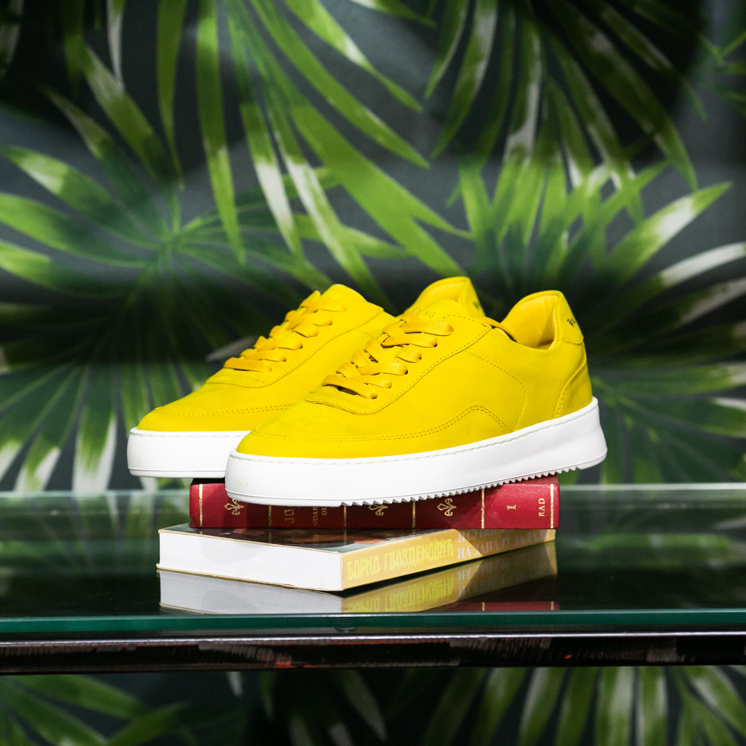 FP Mondo 2.0 Ripple Nubuck Yellow