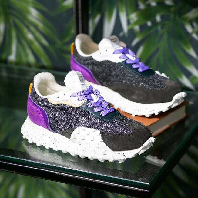 FP Crease Runner Wind Purple Black