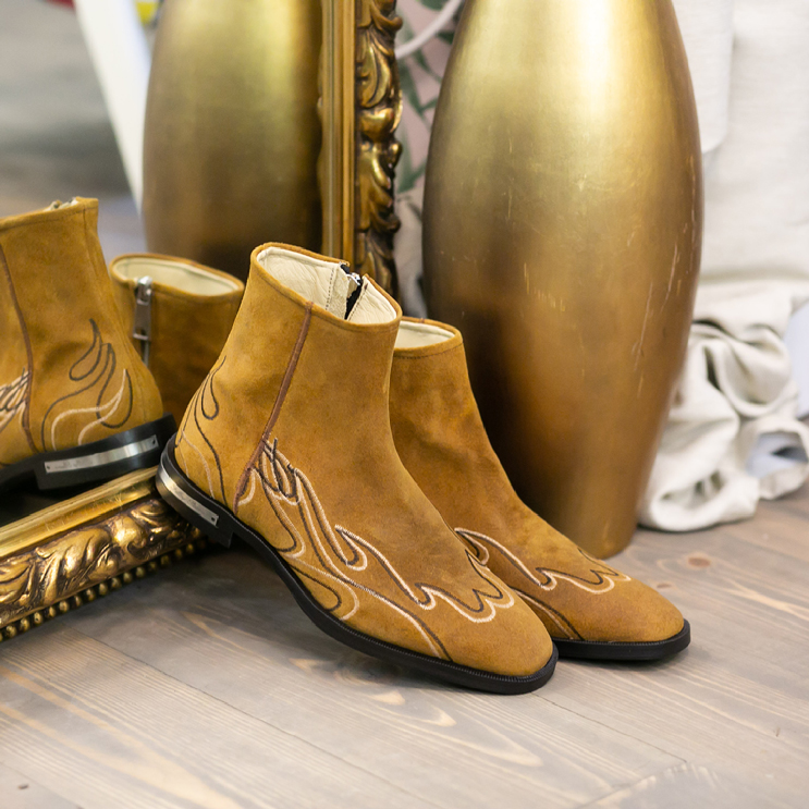 FP Western Boot Brown